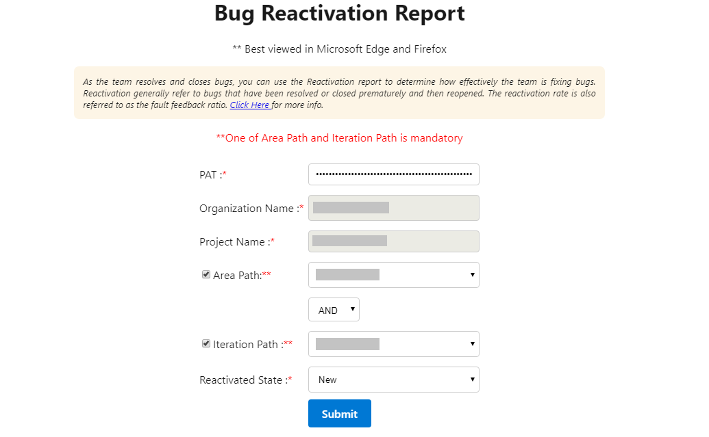 BugReactivationReport
